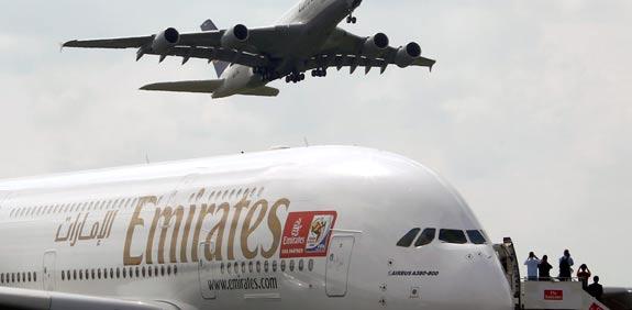 מטוס של חברת אמירייטס / צלם: רויטרס